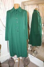 1940s green mac coat - Ditsy Vintage - Size 14 MAKE DO AND MEND