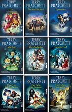 Terry Pratchett Scheibenwelt, Pratchetts Scheibenwelt ,die ersten 9 Bände