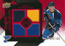 08-09 Black Diamond JERSEY RUBY xx/100 Made! Keith TKACHUK - Blues