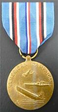 Vintage US WWII Medal American Campaign 1941- 1945 Uniform Military Pin Badge