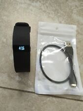 Good Conditions FitBit Charge HR Wireless Heart Rate Activity Sleep Black Large