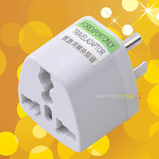 Australia Espana Brazil Portugal to US Canada Japan Power Supply Adapter Plug