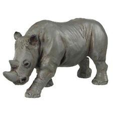 PAPO 50011-ANIMALI SELVAGGI-RINOCERONTE-FIGURE 3D-MATERIALE GOMMA/PLASTICA