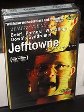 Jefftowne (DVD) Daniel Kraus, Jeff Towne, Genevieve Lutgen, TROMA DVD! NEW!
