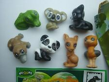 KINDER SURPRISE SET - NATOONS WILD ANIMALS BABYS 2013 - FIGURES COLLECTIBLES