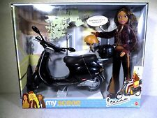 NIB BARBIE DOLL 2003 MY SCENE VESPA WITH DOLL MADISON