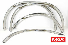 FTFD216 - 99-07 Ford F-250 F-350 Super Duty CREASED STYLE Stainless Fender Trim