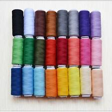 24in1 Spools Home Sewing Alteration High Quality Kit Cotton Thread Reel Roll