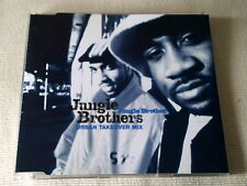 JUNGLE BROTHERS - JUNGLE BROTHER (URBAN TAKEOVER REMIX) - D&B CD SINGLE
