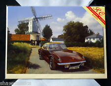 Lotus Elan +2 - The Windmill and the Lotus - Greetings card with envelope
