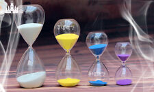Colorful sand clock sandglass hourglass Timer 15 Minute home decor birthday gift