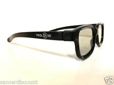 10 PAIRS  OF  REAL D 3D  GLASSES  POLARIZED  **FOR PASSIVE TV