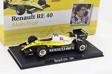 Alain Prost Renault RE40 #15 Formel 1 1983 1:43 Altaya