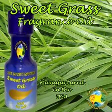 Nature's Mojo Sweet Grass All Natural Fragrance Oil