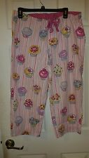 "Nick and Nora ""Cupcake""  Pajama Bottoms - SZ. M"