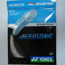 5 pkts YONEX BG AS AEROSONIC BG-AS Badminton String, 0.61 mm Super Power