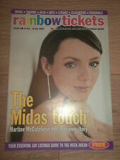RAINBOW TICKETS MAGAZINE # 6 (NOVEMBER 24 - 30 2000) - MARTINE MCCUTCHEON COVER