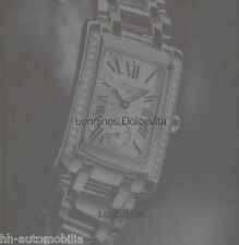 Uhrenkatalog Longines Dolce Vita 9/10 (span.) catalog watches catalogue montres
