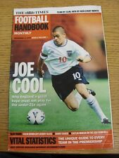 11/11/2000 The Times: Football Handbook Monthly - Issue 02 Volume 01 - England J