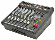 Citronic CSP-408, 8 entrée 400W compact powered mixer dsp