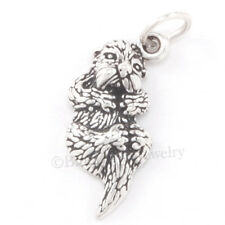 SEA OTTER Marine Ocean Animal Jewelry 925 Sterling Silver Pendant Charm so cute!