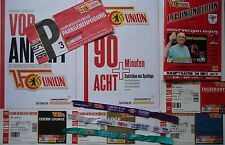 11 items VIP Tickets Programm Parking 2015/16 Union Berlin - RB Leipzig