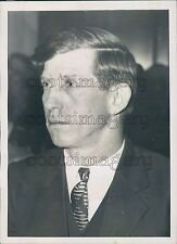 1937 Bill Thug Johnson of Virginia Union Suppression Harlan Co KY Press Photo