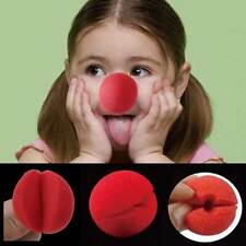 25 Pcs Fun Red Sponge Clown Noses for Circus Halloween Carnival Party Favors
