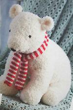 Polar Bear Toy Knitting Pattern BP207
