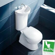 Caroma Profile 5 Deluxe Toilet with Integrated Hand Basin Ceramic 977785W