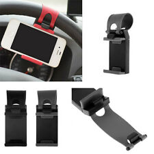 Car Steering Wheel Mount Holder Rubber For iPhone iPod MP4 GPS Mobile Phone