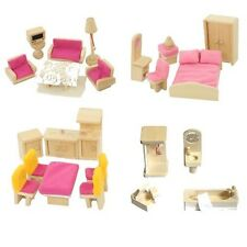kavya rosé Dollhouse furniture set 28 Pieces + Covers for Freda