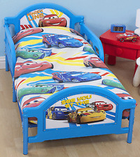 DISNEY CARS SPEED JUNIOR TODDLER DUVET QUILT COVER KIDS COT INFANT SIZE BED