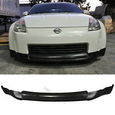 Fit For 03-04 05 Nissan 350Z Ing-S Style Front Bumper Lip PU