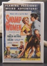 Swamp Women Movie Poster - Fridge / Locker Magnet. Roger Corman