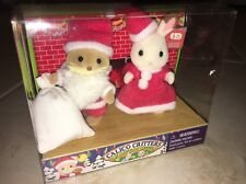 Calico Critters Santa And Mrs Claus New In Box Rare CC1479