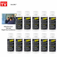 LOT OF 11 Hair-DRx- Men's Extra Strength Hair Regrowth Treatment (Unscented)