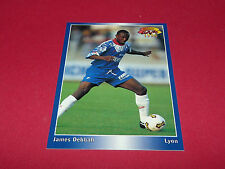 JAMES DEBBAH OLYMPIQUE LYON OL GERLAND PANINI FOOTBALL CARD 1994-1995