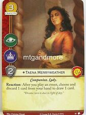 A Game of Thrones 2.0 LCG - #010 Taena Merryweather-Lions of Castel Granito