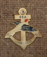 1986-87 LIONS CLUB PIN - FLORIDA  KEY LARGO DIST.-35-A