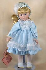 "Kingstate Tammy Collector's Porcelain Girl Doll 12"" w/Tags"