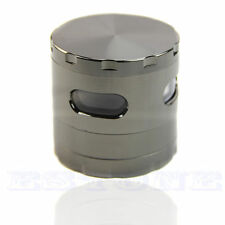 55mm 4 Piece Zinc Alloy Hand Crank Herb Mill Crusher Tobacco Smoke Grinder Hot