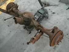 """FORD DISK BRAKE 9 INCH 9"""" REAR END COMPLETE W/SWAY BAR CONTROL ARMS THIRD MEMBER"""