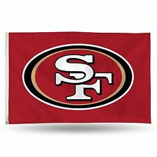 "San Francisco 49ers NFL Banner Flag 3' x 5' (36"" x 60"") ~ NEW"