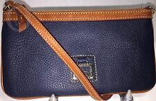 *Dooney & Bourke*Navy Large Slim Wristlet*Dillen Leather*Wallet 17084B S167A