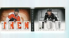 2013-14 Playbook Then and Now Mike Richards Seven Patch Booklet 24/25  Crazy