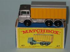 MATCHBOX Regular Wheels 47 DAF Tipper Container Truck MINT in E4 box