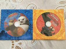 DVD Samplers Lot of 2 ~ Kung Fu Panda - How to Train Your Dragon-GM cereal promo