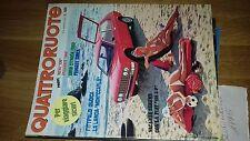 QUATTRORUOTE 1975 LANCIA BETA Montecarlo MINI 120 - FIAT ABARTH 124 SPORT