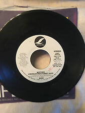 "DION-VERY RARE Orig PROMO 45-""Midtown American Main Street Gang""-Lifesong-'78-NM"